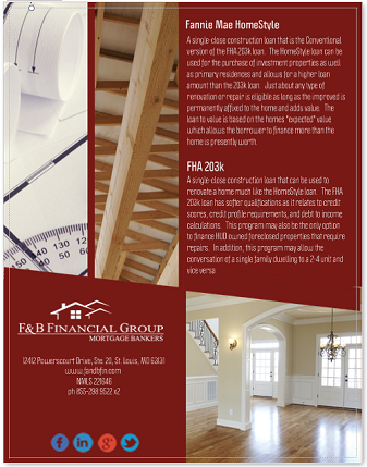 F & B Financial Group - Mortgage Bankers